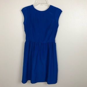 Mossimo A-line dress in bright royal blue